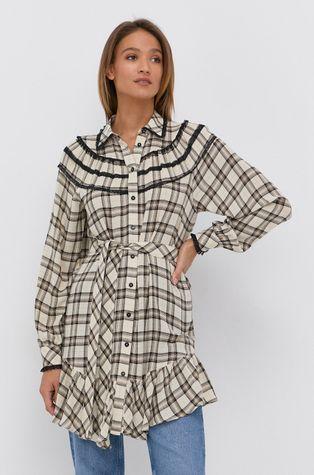 Twinset - Sukienka z domieszką wełny