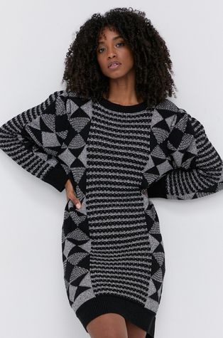 Twinset - Šaty z vlněné směsi