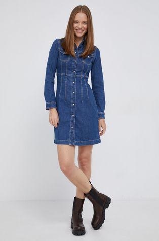 Pepe Jeans - Sukienka jeansowa Lacey