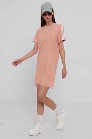 adidas - Sukienka bawełniana