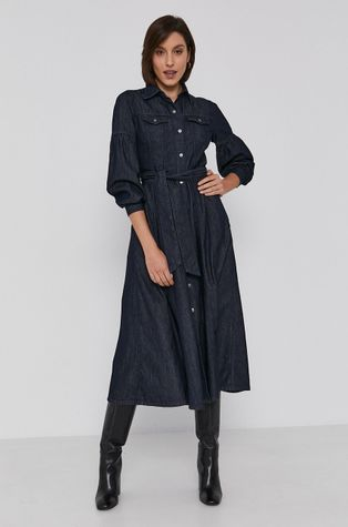 Sisley - Sukienka bawełniana