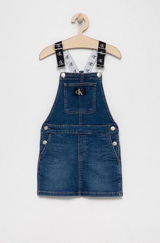 Calvin Klein Jeans - Sukienka jeansowa dziecięca