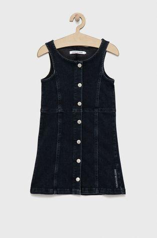 Calvin Klein Jeans - Dievčenské rifľové šaty