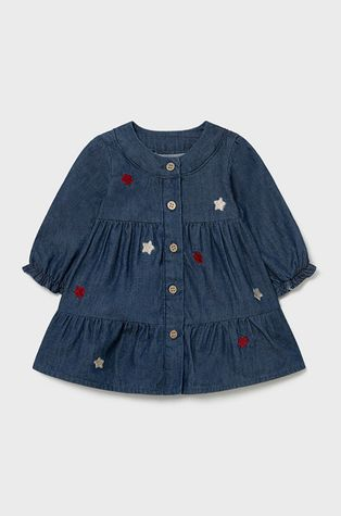 Mayoral Newborn - Детска памучна рокля