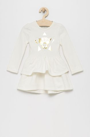 Guess - Παιδικό βαμβακερό φόρεμα