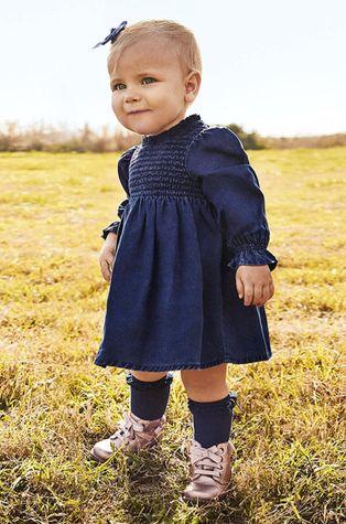 Mayoral - Dětské riflové šaty