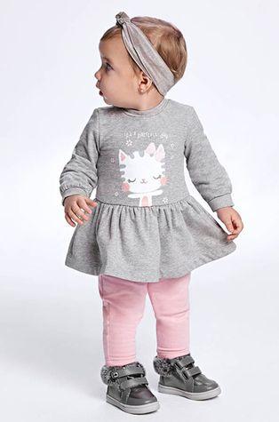 Mayoral - Sukienka bawełniana dziecięca