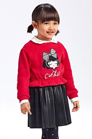 Mayoral - Παιδικό φόρεμα και μπλούζα