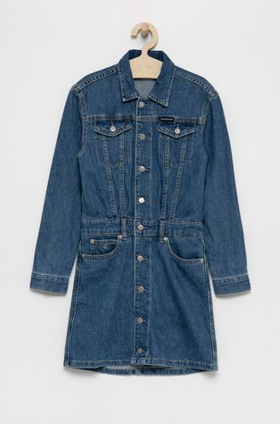 Calvin Klein Jeans - Παιδικό φόρεμα τζιν