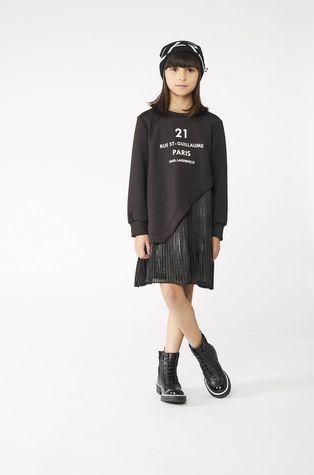 Karl Lagerfeld - Хлопковое детское платье