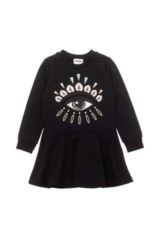 KENZO KIDS - Dětské bavlněné šaty