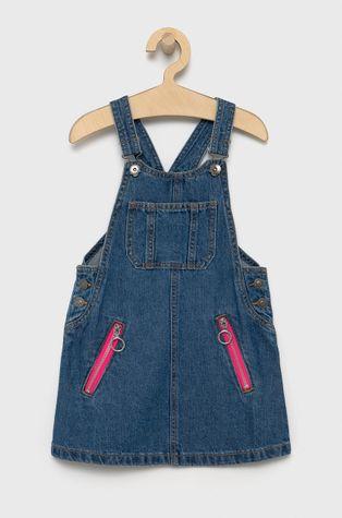 United Colors of Benetton - Sukienka jeansowa dziecięca