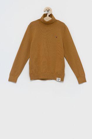 Tommy Hilfiger - Παιδικό βαμβακερό πουλόβερ