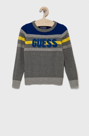 Guess - Παιδικό βαμβακερό πουλόβερ