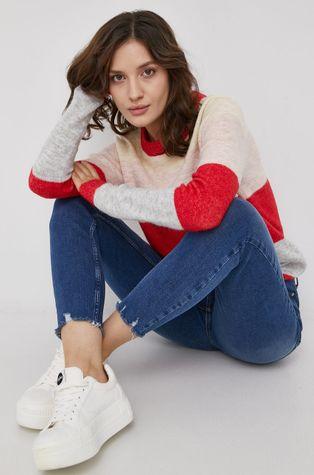 Vero Moda - Sweter z domieszką wełny
