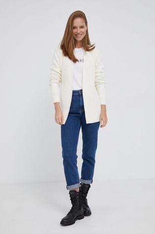 Calvin Klein - Cardigan din amestec de lana