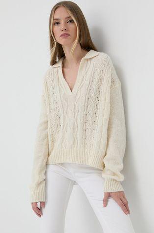 Samsoe Samsoe - Sweter wełniany
