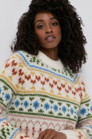 Samsoe Samsoe - Sweter z domieszką wełny