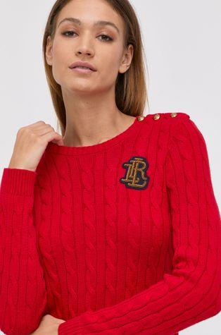 Lauren Ralph Lauren - Βαμβακερό πουλόβερ
