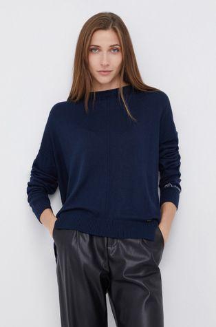 Pepe Jeans - Sweter z domieszką wełny Carol