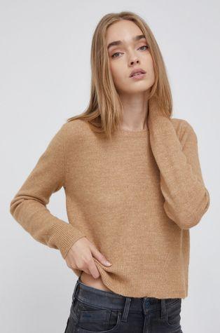 Pepe Jeans - Sweter z domieszką wełny Laura
