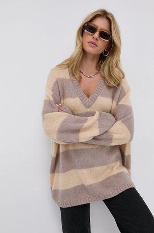 AllSaints - Sweter z domieszką wełny