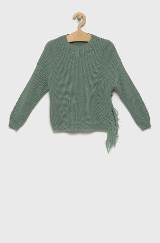 United Colors of Benetton - Gyerek gyapjúkeverékből készült pulóver