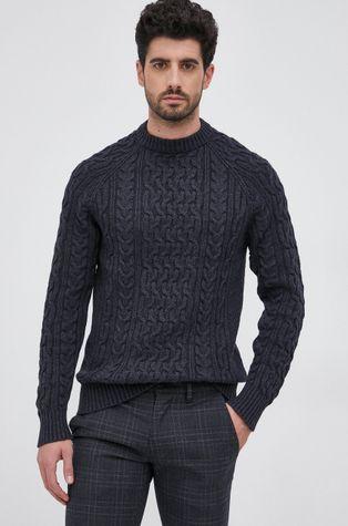 Selected - Sweter z domieszką wełny