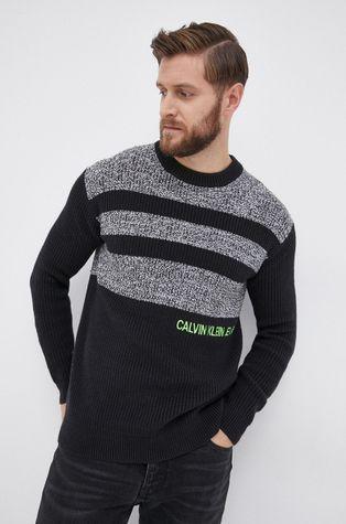 Calvin Klein Jeans - Sveter s prímesou vlny