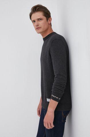 Pepe Jeans - Sweter z domieszką wełny Andre