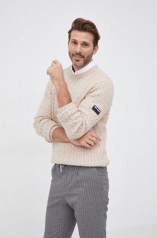 Pepe Jeans - Sweter z domieszką wełny Jules