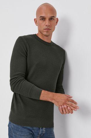 Sisley - Sweter z domieszką wełny
