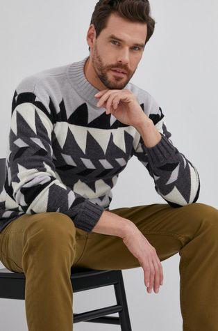 Sisley - Sweter wełniany