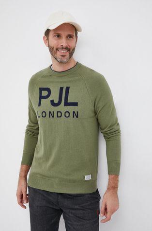 Pepe Jeans - Sweter z domieszką wełny Frederik