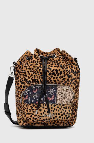 Desigual - Шкіряна сумочка