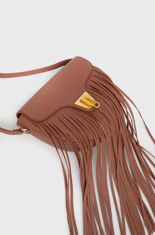 Coccinelle - Δερμάτινη τσάντα Frange