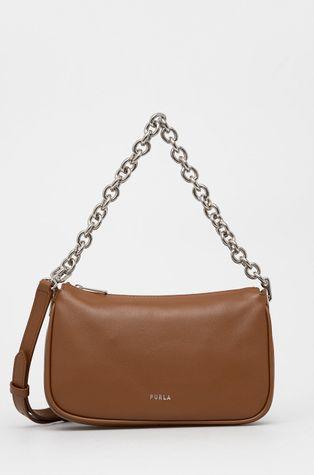 Furla - Kožená kabelka MOON