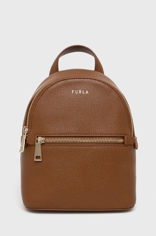 Furla - Kožený ruksak Libera