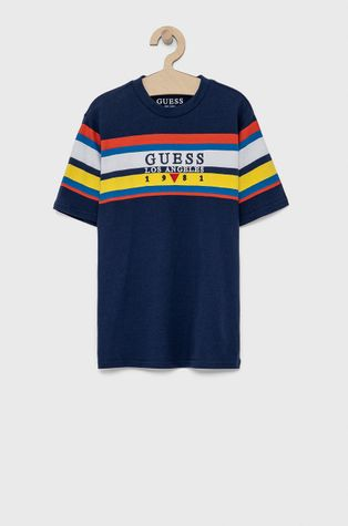 Guess - T-shirt bawełniany dziecięcy