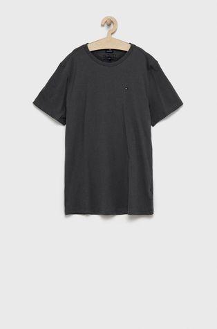 Tommy Hilfiger - T-shirt bawełniany dziecięcy