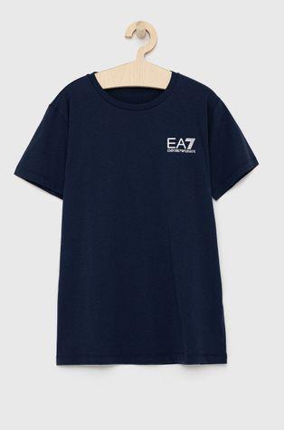 EA7 Emporio Armani - T-shirt bawełniany dziecięcy
