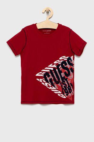Guess - Παιδικό βαμβακερό μπλουζάκι