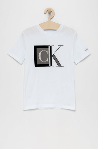 Calvin Klein Jeans - Παιδικό βαμβακερό μπλουζάκι