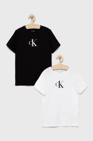 Calvin Klein Underwear - Παιδικό μπλουζάκι (2-pack)