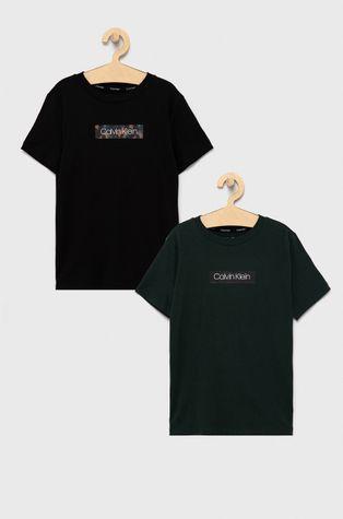 Calvin Klein Underwear - Детска памучна тениска (2 броя)