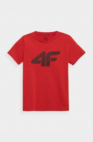 4F - Dětské bavlněné tričko