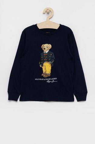 Polo Ralph Lauren - Detská bavlnená košeľa s dlhým rukávom