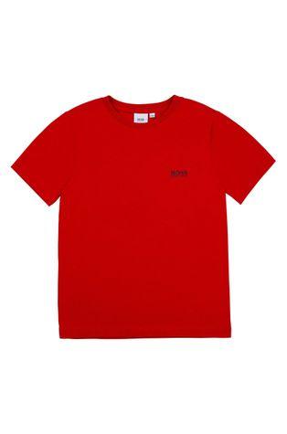 Boss - Детска памучна тениска