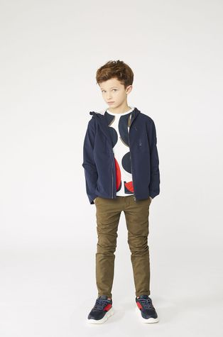 Boss - Дитяча бавовняна футболка