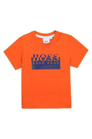 Boss - Gyerek pamut póló